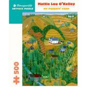 Pomegranate Pomegranate Mattie L. O'Kelley: My Parents' Farm Puzzle 500pcs
