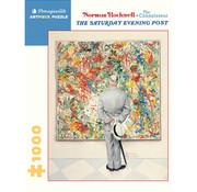 Pomegranate Pomegranate Norman Rockwell: The Connoisseur Puzzle 1000pcs