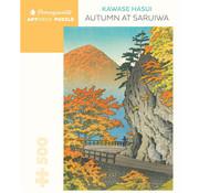 Pomegranate Pomegranate Kawase Hasui: Autumn at Saruiwa Puzzle 500pcs