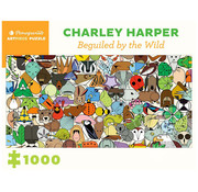 Pomegranate Pomegranate Charley Harper: Beguiled by the Wild Puzzle 1000pcs