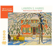 Pomegranate Pomegranate Lawren S. Harris: Red House and Yellow Sleigh Puzzle 1000pcs