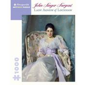 Pomegranate Pomegranate John Singer Sargent: Lady Agnew of Lochnaw Puzzle 1000pcs