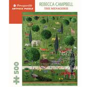 Pomegranate Pomegranate Rebecca Campbell: The Menagerie Puzzle 500pcs