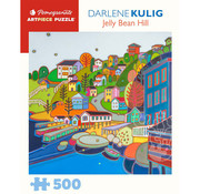 Pomegranate Pomegranate Darlene Kulig: Jellybean Hill Puzzle 500pcs