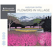 Pomegranate Pomegranate Kazuyuki Ohtsu: Flowers in Village Puzzle 500pcs