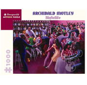 Pomegranate Pomegranate Archibald Motley: Nightlife Puzzle 1000pcs