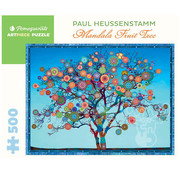 Pomegranate Pomegranate Paul Heussenstamm: Mandala Fruit Tree  Puzzle 500pcs