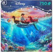 Ceaco Ceaco Thomas Kinkade Disney Little Mermaid Puzzle 750pcs