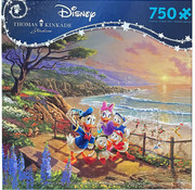 Ceaco Ceaco Thomas Kinkade Disney Donald Duck, Daisy and the Kids Puzzle 750pcs