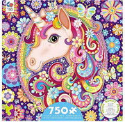Ceaco Ceaco Groovy Animals Unicorn Puzzle 750pcs