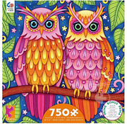 Ceaco Ceaco Groovy Animals Owls Puzzle 750pcs