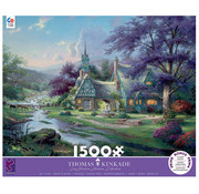 Ceaco Ceaco Thomas Kinkade Clocktower Cottage Puzzle 1500pcs