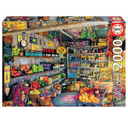 Educa Borras Educa The Farmers Market Puzzle 2000pcs