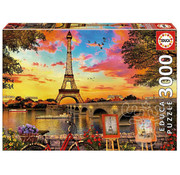 Educa Borras Educa Sunset in Paris Puzzle 3000pcs