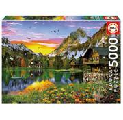 Educa Borras Educa Alpine Lake Puzzle 5000pcs