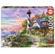 Educa Borras Educa Lighthouse at Rock Bay Puzzle 1000pcs