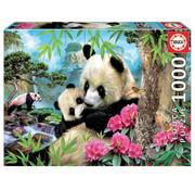 Educa Borras Educa Morning Panda Puzzle 1000pcs