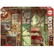 Educa Borras Educa Old Garage Puzzle 1500pcs