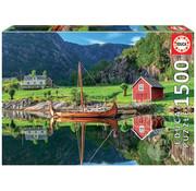 Educa Borras Educa Viking Ship Puzzle 1500pcs