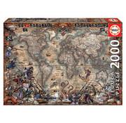 Educa Borras Educa Pirates Map Puzzle 2000pcs