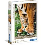 Clementoni Clementoni Bengal Tiger Cub Puzzle 500pcs