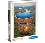 Clementoni Clementoni Bibliodame Puzzle 1000pcs