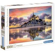 Clementoni Clementoni Le magnifique Mont Saint-Michel Puzzle 1000pcs