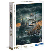 Clementoni Clementoni The Pirate Ship Puzzle 1500pcs
