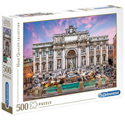 Clementoni Clementoni Trevi Fountain Puzzle 500pcs