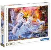 Clementoni Clementoni Wild Unicorns Puzzle 1500pcs