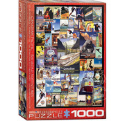 Eurographics Eurographics Canadian Pacific Railroad Adventures Puzzle 1000pcs