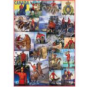Eurographics Eurographics RCMP Collage Puzzle 1000pcs