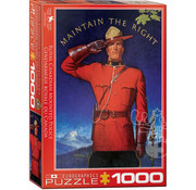 Eurographics Eurographics RCMP Maintain the Right Puzzle 1000 pcs