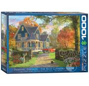 Eurographics Eurographics The Blue Country House Puzzle 1000 pcs