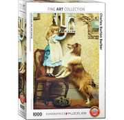 Eurographics Eurographics Little Girl and Her Sheltie Puzzle 1000pcs