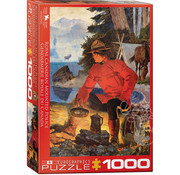 Eurographics Eurographics RCMP Morning Campfire Puzzle 1000 pcs