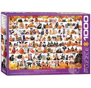 Eurographics Eurographics Halloween Pets Puzzle 1000 pcs
