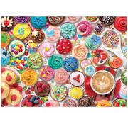 Eurographics Eurographics Cupcake Party - Sweet Collection Puzzle 1000 pcs