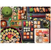 Eurographics Eurographics Sushi Table Puzzle 1000 pcs