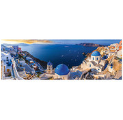 Eurographics Eurographics Santorini, Greece Panoramic Puzzle 1000 pcs