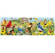 Eurographics Eurographics Backyard Birds Panoramic Puzzle 1000 pcs