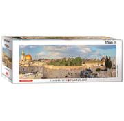 Eurographics Eurographics Jerusalem, Israel Panoramic Puzzle 1000 pcs