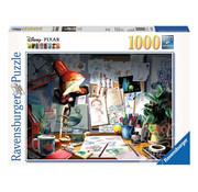 Ravensburger Ravensburger Disney The Artist's Desk Puzzle 1000pcs
