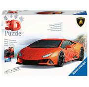Ravensburger Ravensburger 3D Lamborghini Huracan EVO Puzzle 108pcs