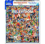 White Mountain White Mountain Television History Puzzle 1000pcs