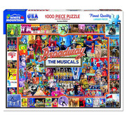 White Mountain White Mountain Broadway the Musicals Puzzle 1000pcs