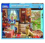 White Mountain White Mountain Home Sweet Home Puzzle 1000pcs