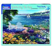 White Mountain White Mountain Garden By the Bay Puzzle 1000pcs
