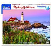 White Mountain White Mountain Maine Lighthouse Puzzle 1000pcs