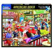 White Mountain White Mountain American Diner Puzzle 1000pcs